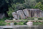 Kaludiya Pokuna (Black Pond) at Mihintale.