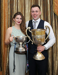 A time to celebrate<br /> Martina Walker and Liam Kettrick at the Westport GAA team&rsquo;s All Ireland celebration banquet.<br />