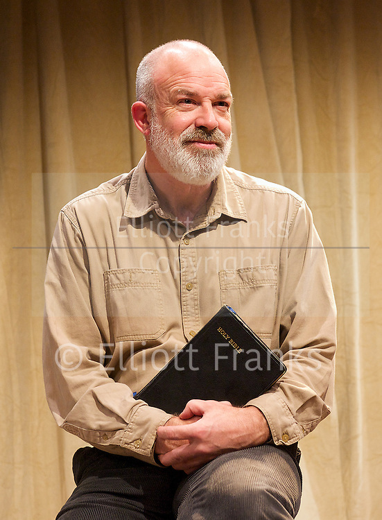 The Green Bay Tree <br /> by Mordaunt Shairp<br /> at the Jermyn Street Theatre, London, Great Britain <br /> press photocall <br /> 26th November 2014 <br /> directed by Tim Luscombe<br /> <br /> <br /> <br /> Richard Heap as Mr Owen <br /> <br /> <br /> <br /> Photograph by Elliott Franks <br /> Image licensed to Elliott Franks Photography Services