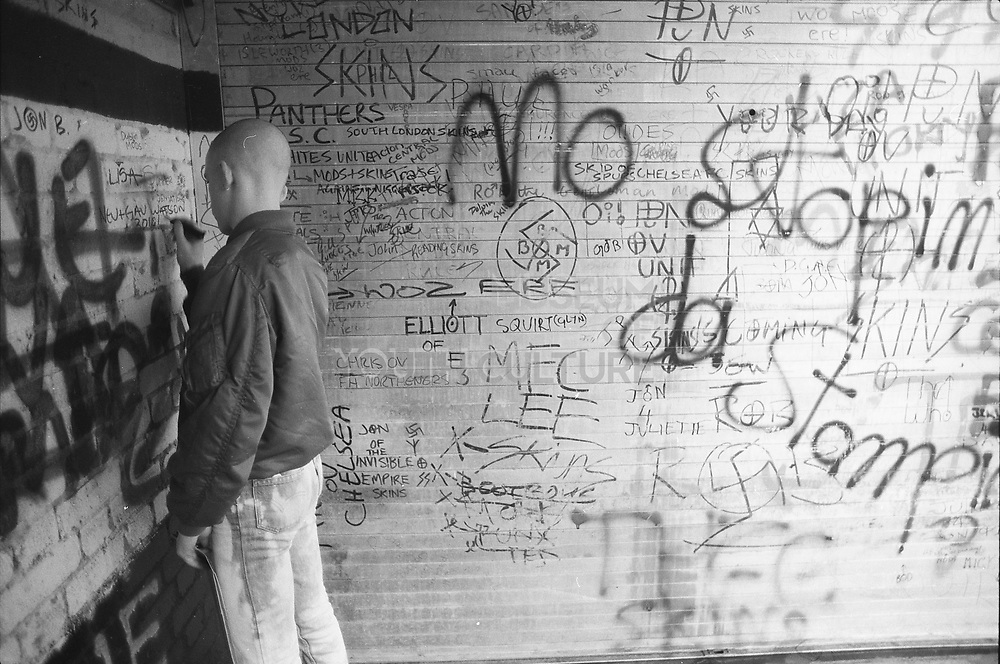 Naville and Graffiti, 1980s.