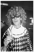Piers Gaveston Ball, Park Lane Hotel 13.05.83© Copyright Photograph by Dafydd Jones 66 Stockwell Park Rd. London SW9 0DA Tel 020 7733 0108 www.dafjones.com