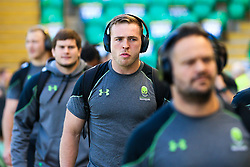 Perry Humphreys of Worcester Warriors arrives at Franklins Gardens for the Aviva Premiership fixture against Northampton Saints - Mandatory by-line: Robbie Stephenson/JMP - 05/05/2018 - RUGBY - Franklin's Gardens - Northampton, England - Northampton Saints v Worcester Warriors - Aviva Premiership
