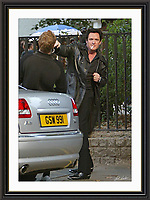 Michael Madsen London Holborn London 7/9/2003 A3 Museum-quality Archival signed Framed Print (Limited Edition of 25)