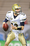 Hartford Colonials quarterback Josh McCown (12) during his team's game against the Florida Tuskers at the Florida Citrus Bowl on November 11, 2010 in Orlando, Florida. The Tuskers won the game 41-7..©2010 Scott A. Miller