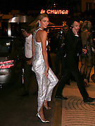 KARLIE KLOSS- THE CELEBRITIES ARRIVING AT THE HOTEL MAJESTIC - 68th CANNES FILM FESTIVAL<br /> ©Exclusivepix Media