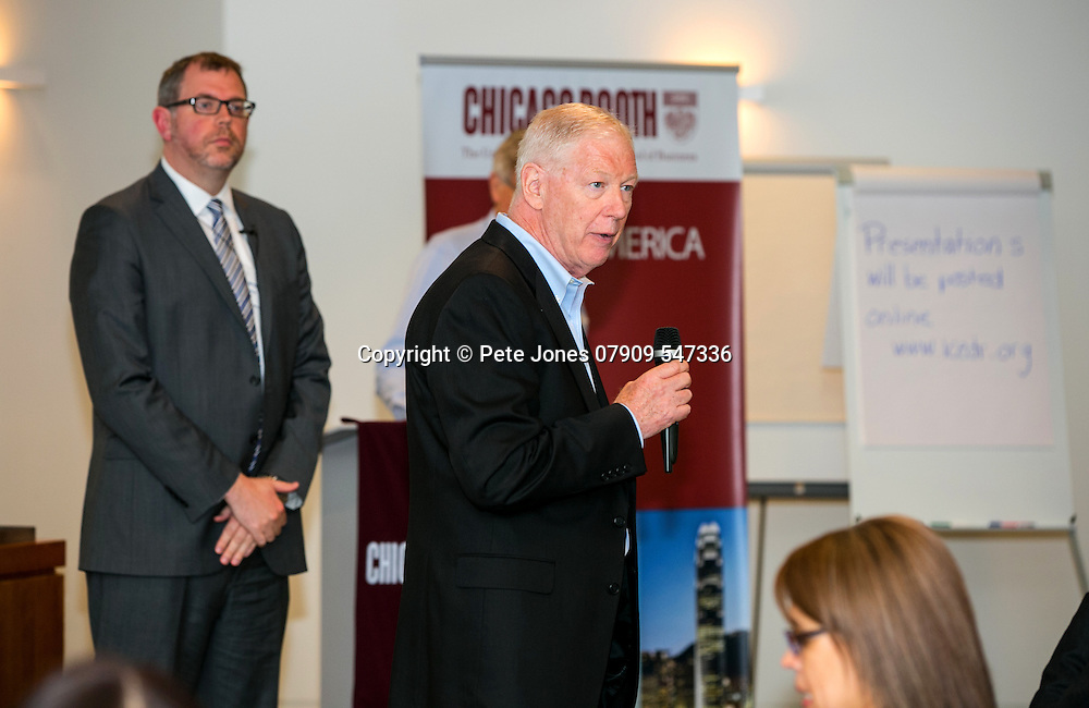 ICEDR Event with AON;<br /> Chicago Booth London &amp; AON HQ:<br /> City of London;<br /> 18 May 2016.<br /> <br /> &copy; Pete Jones<br /> pete@pjproductions.co.uk