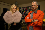 ARIK LEVEY; NADJA SWAROVSKI , Fendi dinner at the home of Craig Robins. Part of Design Miami.  219 Aqua Terrace. Miami. 3 December 2008 *** Local Caption *** -DO NOT ARCHIVE -Copyright Photograph by Dafydd Jones. 248 Clapham Rd. London SW9 0PZ. Tel 0207 820 0771. www.dafjones.com