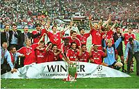 Mannschaft Bayern München Bayern MŸnchen Champions League Sieger 2001 Champions League Finale 2001
