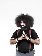 Date: August 25-26, 2012. AfroPunk Festival 2012. Location: Commodore Barry Park, Brooklyn, NY. Street Style. Photographs by Margarita Corporan. CREDIT: Margarita Corporan. CAPTION: Reggie Watts