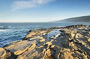 Eroded sandstone, Sonoma Coast, Salt Point State Park California