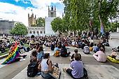 Britain Protests Racism in Parliament Square