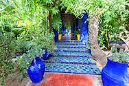 Majorelle Garden in Marrakech.