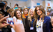 Queen Rania Hosts International Journalists, Amman