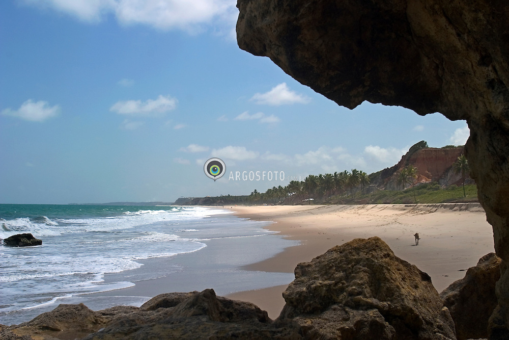 Conde, PB, Brasil. 27/Jan/2005.Praia Barra do Garau./ Barra do Garau Beach..Foto Marcos Issa/Argosfoto