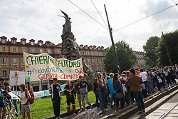 May 24, 2019 - Turin, Piedmont, Italy - Turin, Italy-May 24, 2019: Fridays for Future, Global Climate Event (Credit Image: © Stefano Guidi/ZUMA Wire)