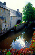 France, Normandy.  Bayeux, Mill at Quai de l'Aure.