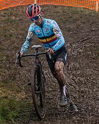 ISERBYT Eli (BEL) during Men Elite race, 2020 UCI Cyclo-cross Worlds Dübendorf, Switzerland, 2 February 2020. Photo by Pim Nijland / Peloton Photos | All photos usage must carry mandatory copyright credit (Peloton Photos | Pim Nijland)
