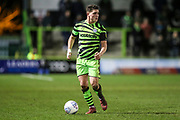 Forest Green Rovers Matty Stevens(9) during the EFL Sky Bet League 2 match between Forest Green Rovers and Port Vale at the New Lawn, Forest Green, United Kingdom on 11 February 2020