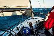 """SoCal 300 yacht race from Santa Barbara to San Diego aboard the Farr 400 """"Blue Flash"""". 31 May 2018"""