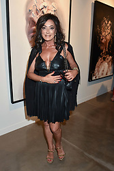 Nancy Dell'olio at the launch of the new JD Malat Gallery, 30 Davies Street, London, England. 05 June 2018.