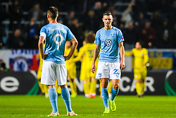 February 14, 2019 - MalmÅ, Sweden - 190214 Marcus Antonsson of MalmÅ¡ FF looks dejected after 0-1 during the Europa league match between MalmÅ¡ FF and Chelsea on February 14, 2019 in MalmÅ¡..Photo: Petter Arvidson / BILDBYRN / kod PA / 92225 (Credit Image: © Petter Arvidson/Bildbyran via ZUMA Press)