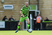 Forest Green Rovers Carl Winchester(7) on the ball during the EFL Sky Bet League 2 match between Forest Green Rovers and Newport County at the New Lawn, Forest Green, United Kingdom on 31 August 2019.