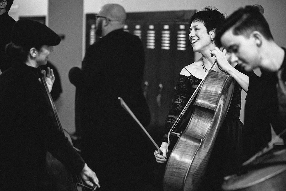 Portland Cello Project - Radiohead's OK Computer 20th anniversary show at Revolution Hall - November 25, 2017. Photo by Jason Quigley