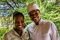 Chef, Nxai Pan Camp (Kwando Safaris), Nxai Pan National Park, Botswana.