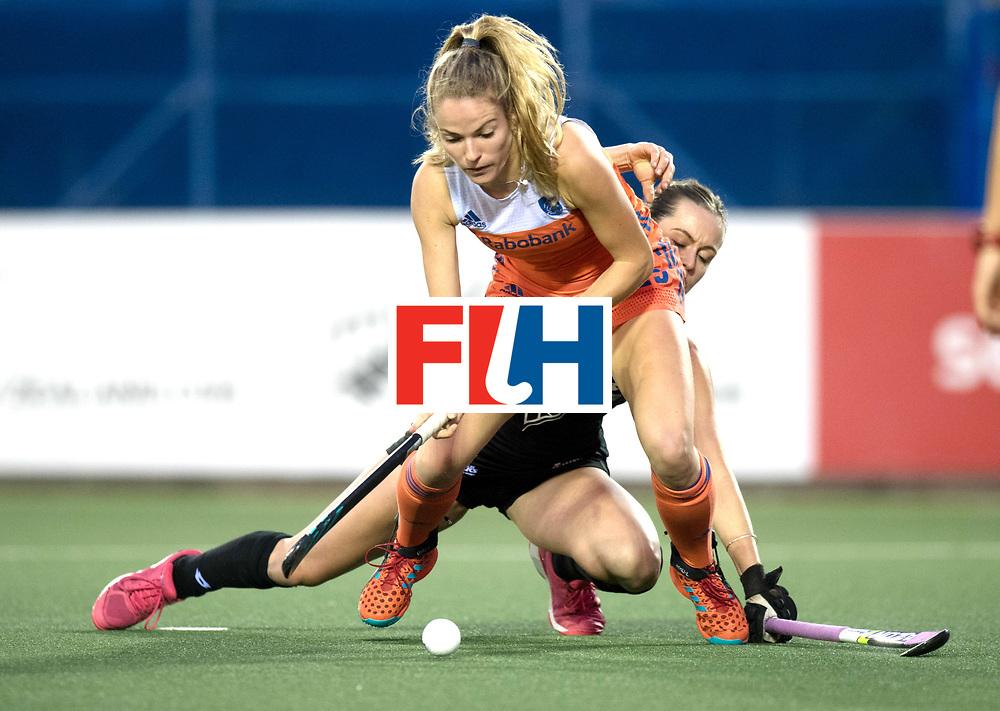AUCKLAND - Sentinel Hockey World League final women<br /> Match id 10292<br /> 02 NED v NZL (Pool A)<br /> Foto:  Goal Maartje Krekelaar.<br /> WORLDSPORTPICS COPYRIGHT FRANK UIJLENBROEK