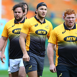 Andre Esterhuizen of South Africa during the South African - Springbok Captain's Run at DHL Newlands Stadium. Cape Town.South Africa. 22,06,2018 23,06,2018 Photo by (Steve Haag JMP)