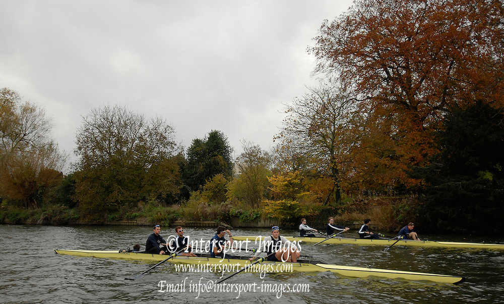 Wallingford, GREAT BRITAIN, Oxford University Boat Club, Training Session, on Wed, 15.11.2006. River Thames, ENGLAND. [Photo, Peter Spurrier/Intersport-images]. Varsity:Boat Race
