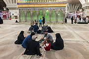 Holy Shrine of Imam Khomeini. The mausoleum of Ayatollah Ruhollah Khomeini is one the grandest architectural endeavours of the Islamic Republic. Built on an enormous scale the Holy Shrine also contains the tombs of Khomeini's wife, second son and several other important political figures.