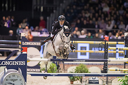 Guery Jerome, BEL, Garfield de Tijl Des Templiers<br /> Jumping International de Bordeaux 2020<br /> © Hippo Foto - Dirk Caremans<br />  08/02/2020