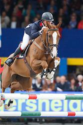 Clee Joe (GBR) - Ilusionata van T Meulenhof<br /> Final 6 years<br /> FEI World Breeding Jumping Championships for Young Horses - Lanaken 2014<br /> © Dirk Caremans