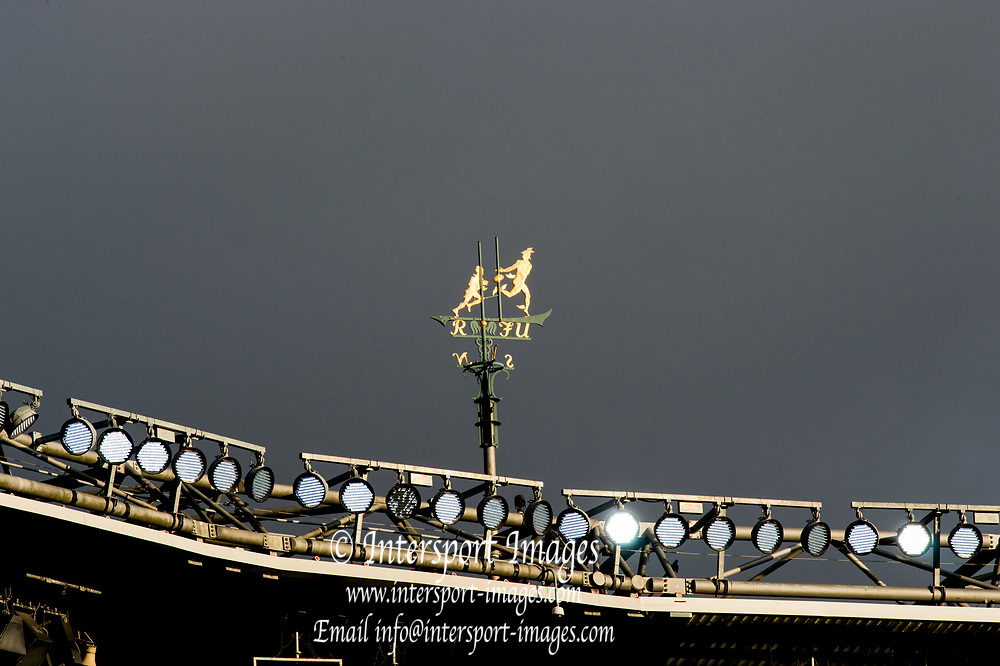 Twickenham, Surrey United Kingdom. Weather Vane, South East corner of the stands, England vs Argentina. Autumn International, Old Mutual Wealth series. RFU. Twickenham Stadium, England. <br /> <br /> Saturday  11.11.17.    <br /> <br /> [Mandatory Credit Peter SPURRIER/Intersport Images]