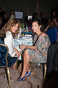 MIRA MIKATI; STEPHANIE ALAMEIDA, The Foreign Sisters lunch sponsored by Avakian in aid of Cancer Research UK. The Dorchester. 15 May 2012