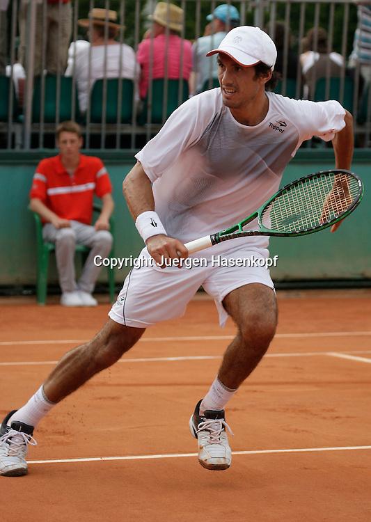 French Open 2009, Roland Garros, Paris, Frankreich,Sport, Tennis, ITF Grand Slam Tournament,  ..Martin Vassallo Arguello (ARG)..Foto: Juergen Hasenkopf..
