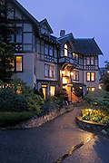 Abigail's Hotel, a luxury boutique inn, Victoria, Vancouver Island, British Columbia, Canada.