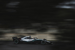 March 1, 2018 - Barcelona, Catalonia, Spain - LEWIS HAMILTON (GBR) drives in his Mercedes W09 EQ Power + during day four of Formula One testing at Circuit de Catalunya (Credit Image: © Matthias Oesterle via ZUMA Wire)