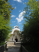 St Petka of Bulgaria, Baba Vanga's (Vangeliya Pandeva Dimitrova and later Vangelia Gushterova) church and grave.