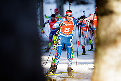 Jaroslav Soukup (CZE) competes during Men 12,5 km Pursuit at day 3 of IBU Biathlon World Cup 2015/16 Pokljuka, on December 19, 2015 in Rudno polje, Pokljuka, Slovenia. Photo by Ziga Zupan / Sportida