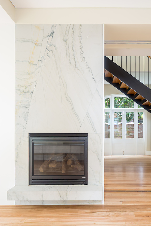 bondi fireplace, yes you read that right
