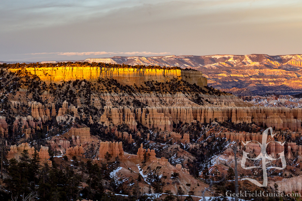Sunset over Sunrise Point 2. Bryce Canyon, Utah