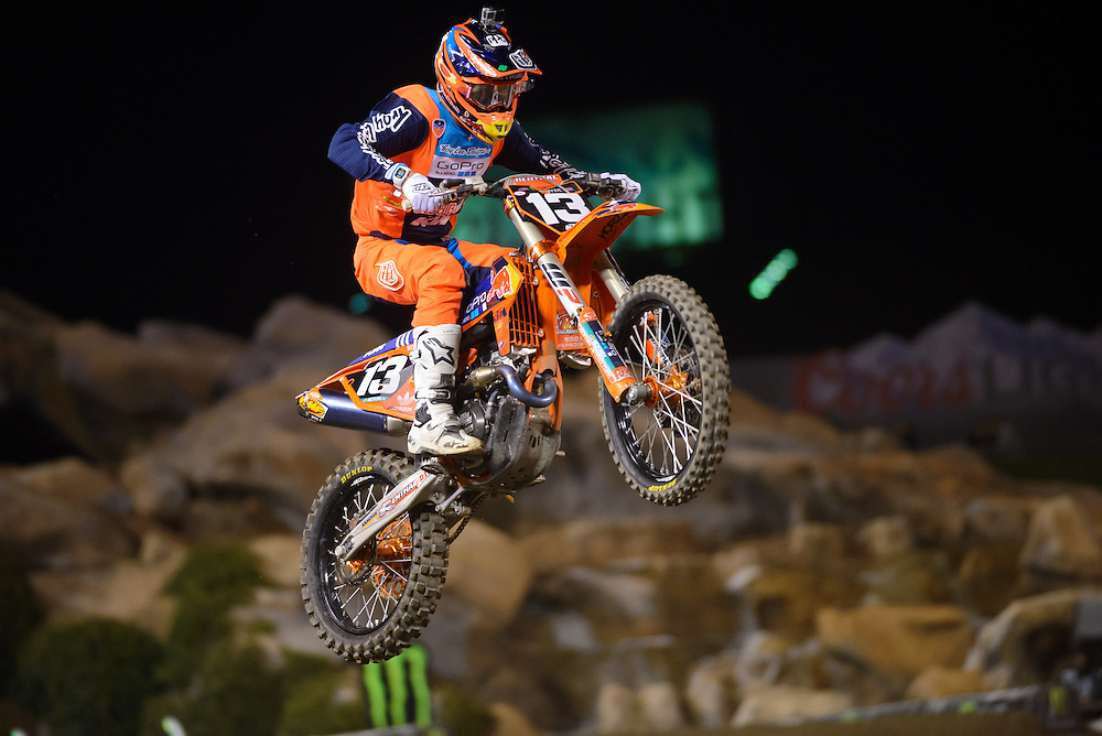 2016 AMA Supercross Series<br /> Angel Stadium<br /> Anaheim, California<br /> January 9, 2016