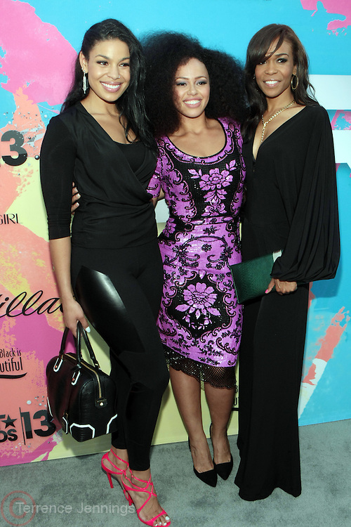 "Los Angeles, CA-June 29:  (L-R) Recording Artists Jordin Sparks, Elle Varner and Michelle Williams attend the Seventh Annual "" Pre "" Dinner celebrating BET Awards hosted by BET Network/CEO Debra L. Lee held at Miulk Studios on June 29, 2013 in Los Angeles, CA. © Terrence Jennings"