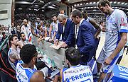 DESCRIZIONE : Beko Legabasket Serie A 2015- 2016 Dinamo Banco di Sardegna Sassari - Enel Brindisi<br /> GIOCATORE : Romeo Sacchetti<br /> CATEGORIA : Allenatore Coach Time Out<br /> SQUADRA : Dinamo Banco di Sardegna Sassari<br /> EVENTO : Beko Legabasket Serie A 2015-2016<br /> GARA : Dinamo Banco di Sardegna Sassari - Enel Brindisi<br /> DATA : 18/10/2015<br /> SPORT : Pallacanestro <br /> AUTORE : Agenzia Ciamillo-Castoria/L.Canu