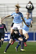 Manchester City midfielder Claire Emslie (22) during the FA Women's Super League match between Manchester City Women and Everton Women at the Sport City Academy Stadium, Manchester, United Kingdom on 20 February 2019.