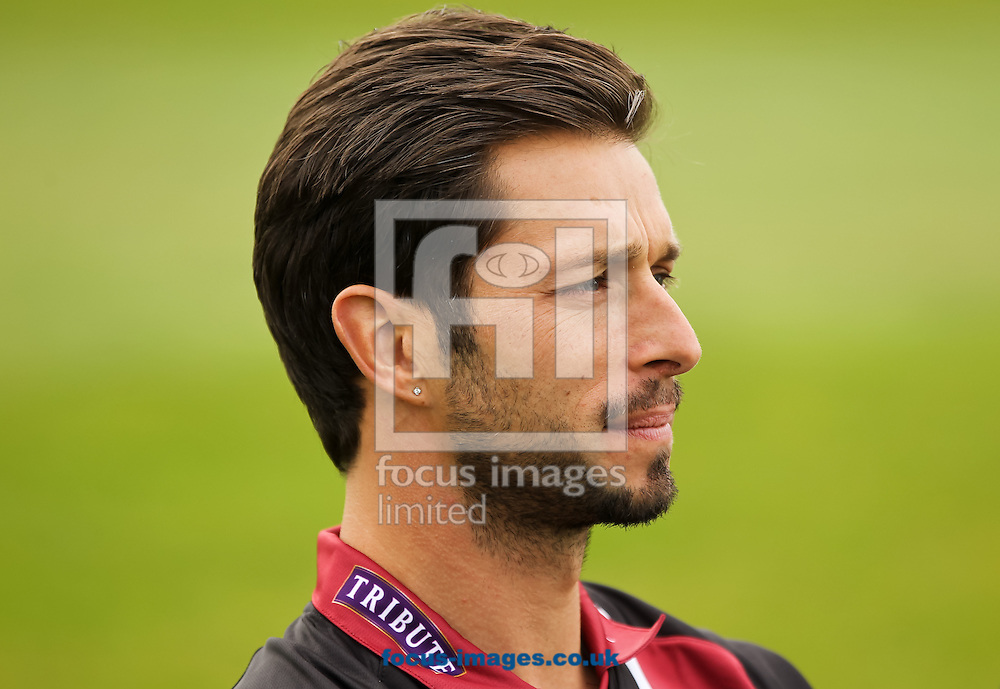 Peter Trego sits for a picture during the Somerset County Cricket Club media day at the County Ground, Taunton, Taunton<br /> Picture by Tom Smith/Focus Images Ltd 07545141164<br /> 31/03/2014