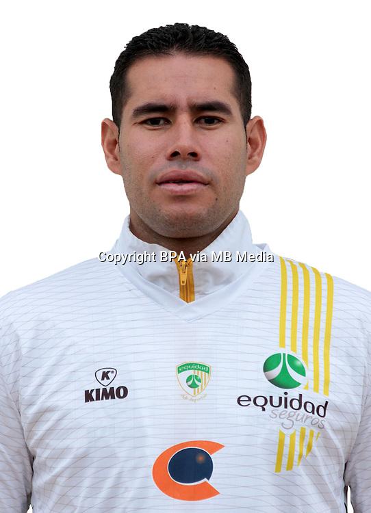 Colombia League - Postobom Liga 2014-2015 - <br /> Club Deportivo La Equidad - Colombia / <br /> Jhon Jairo Valencia