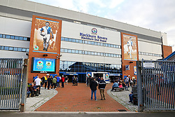 A general view of Ewood Park - Mandatory by-line: Matt McNulty/JMP - 23/08/2017 - FOOTBALL - Ewood Park - Blackburn, England - Blackburn Rovers v Burnley - Carabao Cup - Second Round
